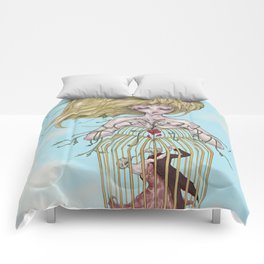 Lucy in the Sky Comforters
