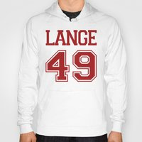 jessica lange Hoodies featuring Jessica Lange Varsity by NameGame