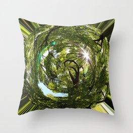 world human Throw Pillow