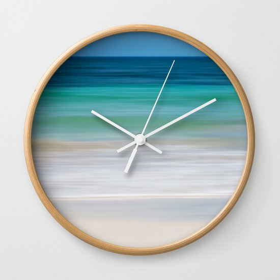 SEA ESCAPE Wall Clock