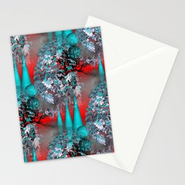 3D - abstraction -71- Stationery Cards