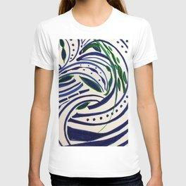 Water Flowing Plant T-shirt
