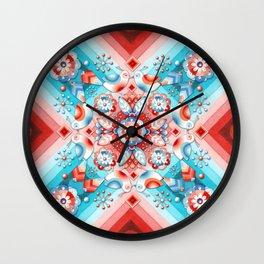 Rococo Lovebirds Wall Clock
