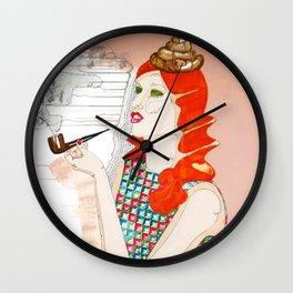 CECI N'EST PAS UNE MERDE Wall Clock