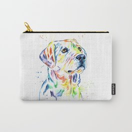 Yellow Lab Colorful Watercolor Painting - Puppy Star Carry-All Pouch