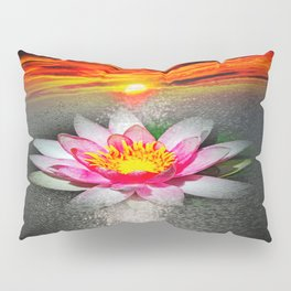 Wellness Water Lily 5 Pillow Sham