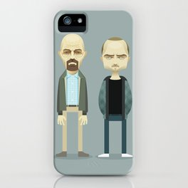 Mr. White and Jesse iPhone Case