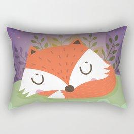 Little fox Rectangular Pillow