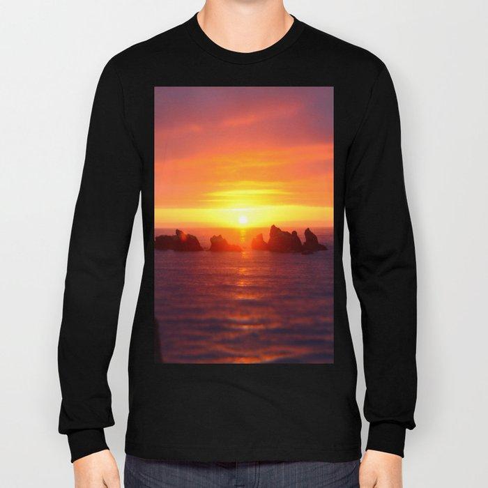 Colorful ocean Long Sleeve T-shirt