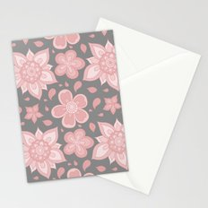 FLORAL PATTERN 8 Stationery Cards