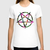 pentagram T-shirts featuring Pentagram by YEAH RAD STOKED