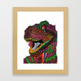 Dinosaur Lizard Framed Art Print