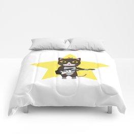 Rock-Music Cat Comforters