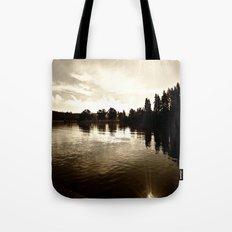 Loch Lomond Sunshine Tote Bag