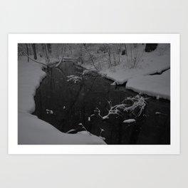 Snowy March Art Print