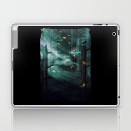 In the Woods Tonight Laptop & iPad Skin