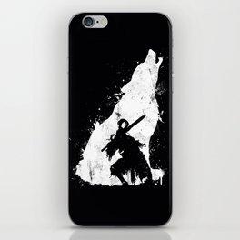 Wolf Knight iPhone Skin
