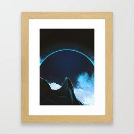 Full dark Framed Art Print