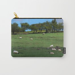 Field of Irish Sheep Carry-All Pouch