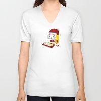 "fleetwood mac V-neck T-shirts featuring ""MAC"" Donalds by Chris Dk"
