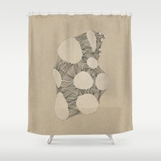 Kraft Konstruction Shower Curtain