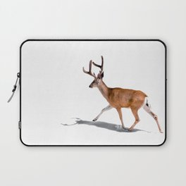 The Buck in Snow (Color) Laptop Sleeve