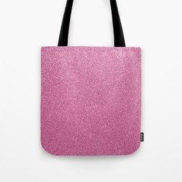 Modern abstract magenta girly pink glitter Tote Bag