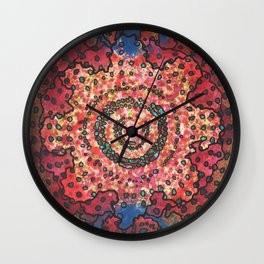 Stain 27 Wall Clock