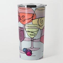Wine and Grapes Travel Mug