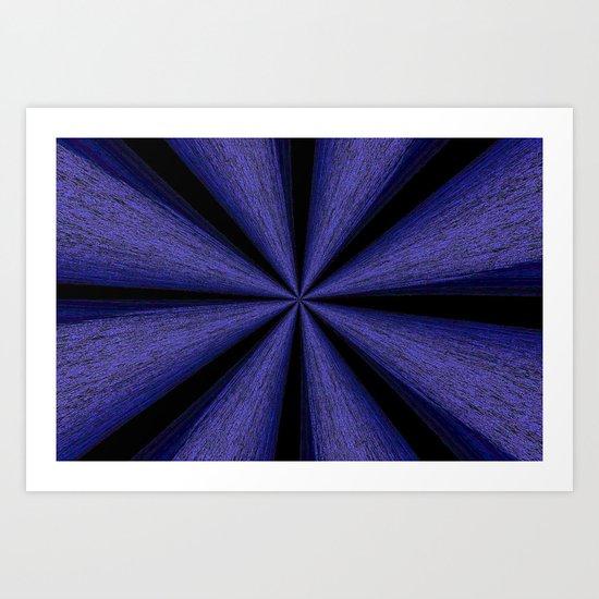 abstract beam Art Print