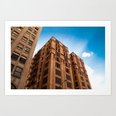 Old Apartment Building Art Print
