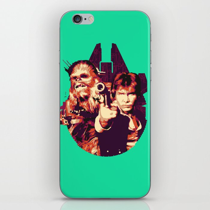Han Solo & Chewbacca iPhone Skin