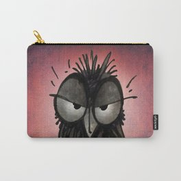 Grumpy Owl Carry-All Pouch