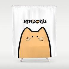Meow part 2 Shower Curtain