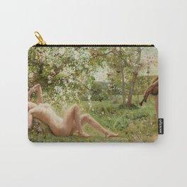 Springtime Awakening : Nude Art Carry-All Pouch