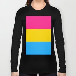 Pansexual Pride Flag Long Sleeve T-shirt