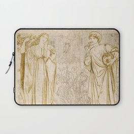 "Edward Burne-Jones ""Chaucer's 'Legend of Good Women' - Hypsiphile And Medea"" Laptop Sleeve"