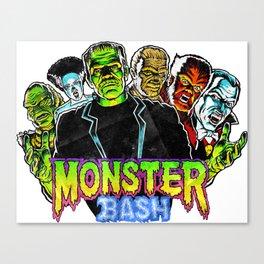 Monster Bash Canvas Print