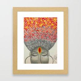 Qi Framed Art Print