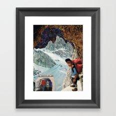paradise inn Framed Art Print