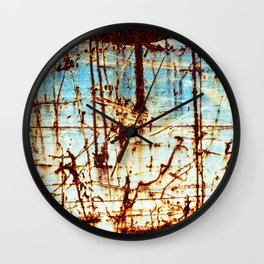 Down In The Dumps Wall Clock