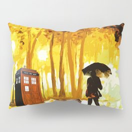 Somebody Looking The Tardis Pillow Sham