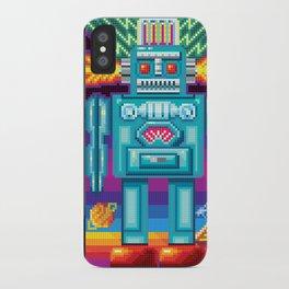Pixel Robot iPhone Case