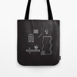 THE ODYSSEY [B/W] Tote Bag