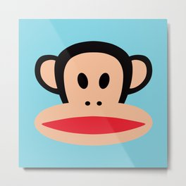 Julius Monkey by Paul Frank Metal Print