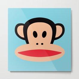 Julius Monkey by Paul Frank Metal Print