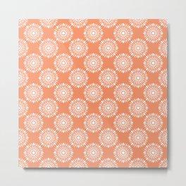 Kitchen orange silverware Metal Print