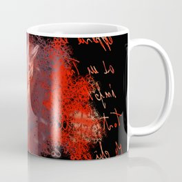 abstract feather # Coffee Mug