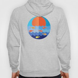 Fish fishing for friends Hoody