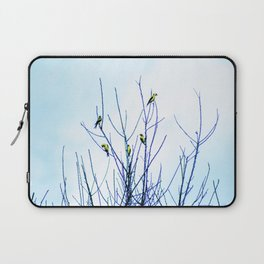 Goldfinches in a Tree Laptop Sleeve